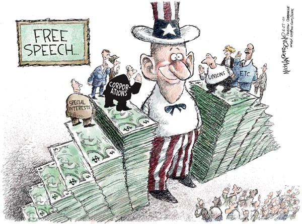 Nick Anderson  Nick Anderson's Editorial Cartoons 2007-06-27 freedom of expression