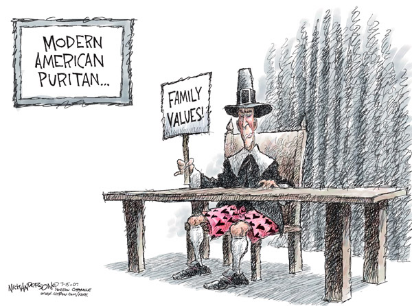 Cartoonist Nick Anderson  Nick Anderson's Editorial Cartoons 2007-07-15 family