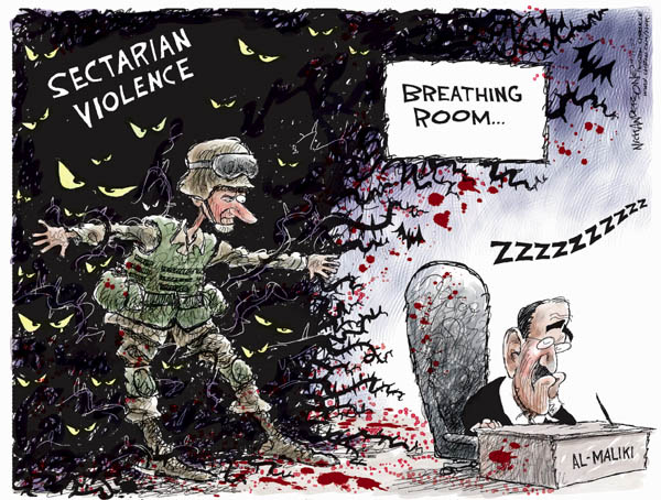 Nick Anderson  Nick Anderson's Editorial Cartoons 2007-09-11 minister