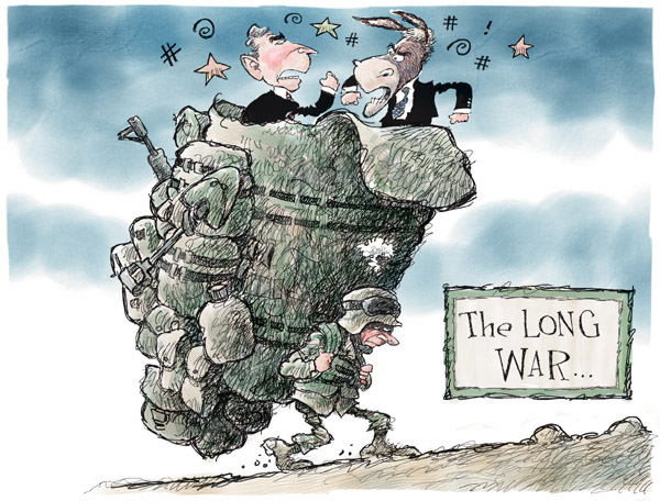 Cartoonist Nick Anderson  Nick Anderson's Editorial Cartoons 2007-09-16 bush
