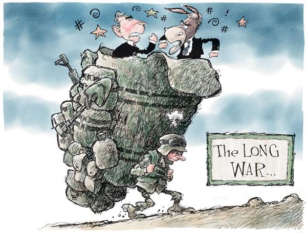 Nick Anderson  Nick Anderson's Editorial Cartoons 2007-09-16 partisan politics