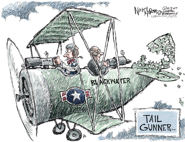Cartoonist Nick Anderson  Nick Anderson's Editorial Cartoons 2007-10-03 firm