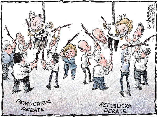 Nick Anderson  Nick Anderson's Editorial Cartoons 2007-10-23 Rudy Giuliani