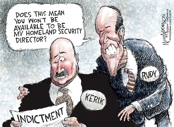 Nick Anderson  Nick Anderson's Editorial Cartoons 2007-11-14 political corruption