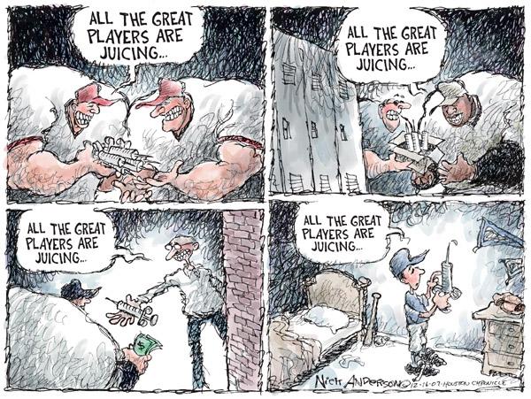Cartoonist Nick Anderson  Nick Anderson's Editorial Cartoons 2007-12-16 player