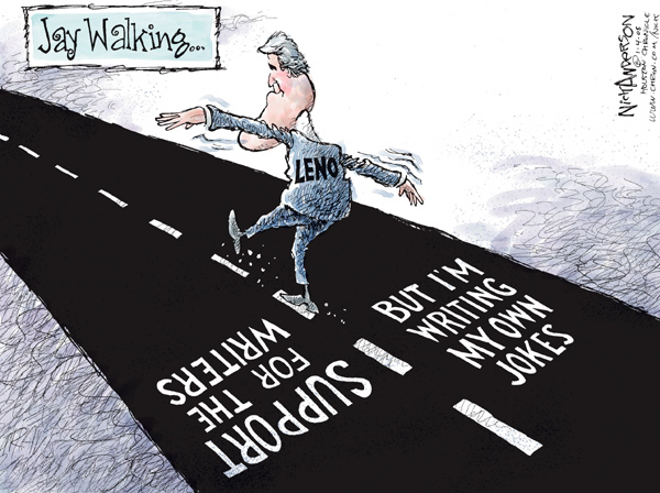 Cartoonist Nick Anderson  Nick Anderson's Editorial Cartoons 2008-01-04 loyalty