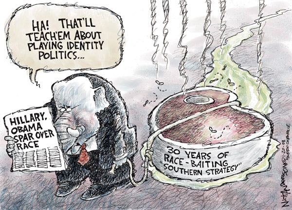 Cartoonist Nick Anderson  Nick Anderson's Editorial Cartoons 2008-01-20 presidential candidate