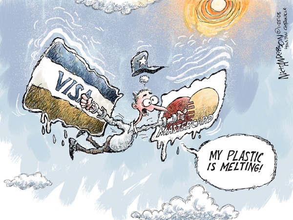 Nick Anderson  Nick Anderson's Editorial Cartoons 2008-01-25 economy