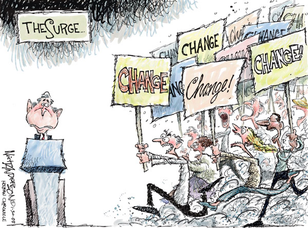 Cartoonist Nick Anderson  Nick Anderson's Editorial Cartoons 2008-01-30 bush