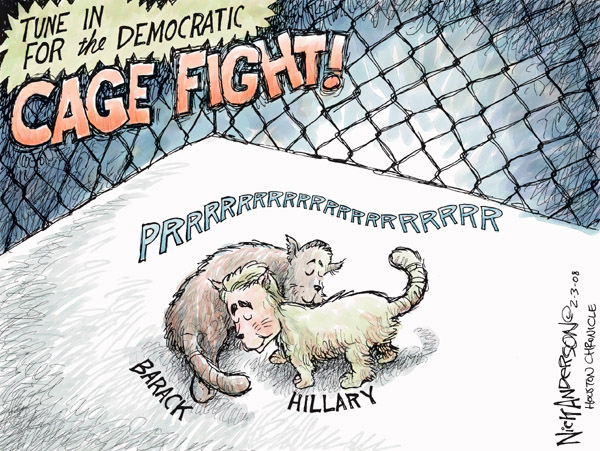 Cartoonist Nick Anderson  Nick Anderson's Editorial Cartoons 2008-02-03 presidential candidate