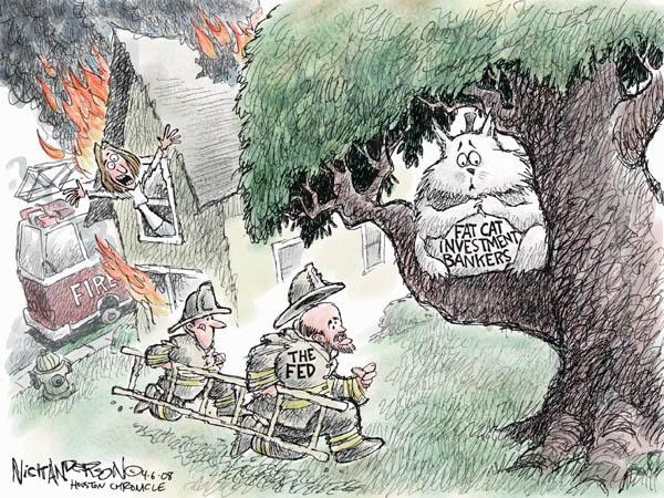 Cartoonist Nick Anderson  Nick Anderson's Editorial Cartoons 2008-04-06 regulation