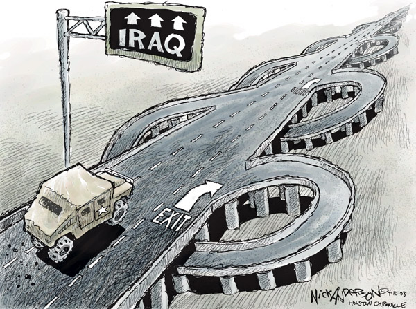 Nick Anderson  Nick Anderson's Editorial Cartoons 2008-04-10 military strategy