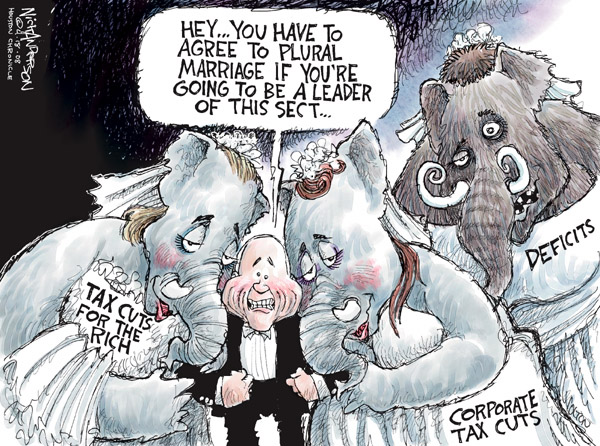 Cartoonist Nick Anderson  Nick Anderson's Editorial Cartoons 2008-04-18 presidential candidate