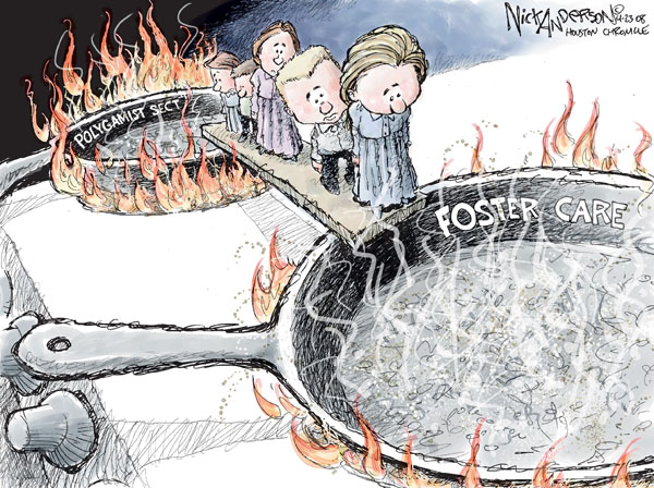 Cartoonist Nick Anderson  Nick Anderson's Editorial Cartoons 2008-04-23 child abuse