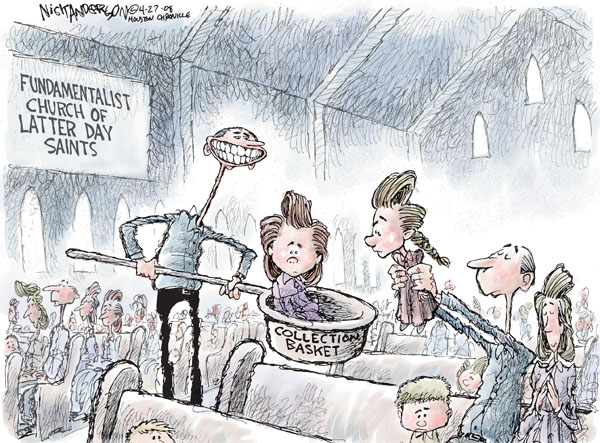 Cartoonist Nick Anderson  Nick Anderson's Editorial Cartoons 2008-04-27 child abuse