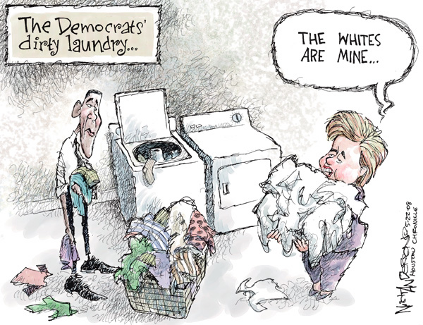 Cartoonist Nick Anderson  Nick Anderson's Editorial Cartoons 2008-05-22 presidential candidate