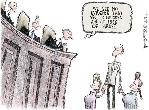 Cartoonist Nick Anderson  Nick Anderson's Editorial Cartoons 2008-05-25 child abuse