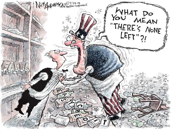 Nick Anderson  Nick Anderson's Editorial Cartoons 2008-05-28 economy
