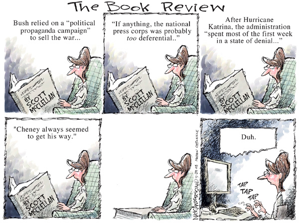 Cartoonist Nick Anderson  Nick Anderson's Editorial Cartoons 2008-05-29 Dick