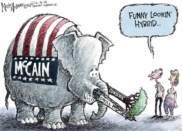 Cartoonist Nick Anderson  Nick Anderson's Editorial Cartoons 2008-06-18 presidential candidate