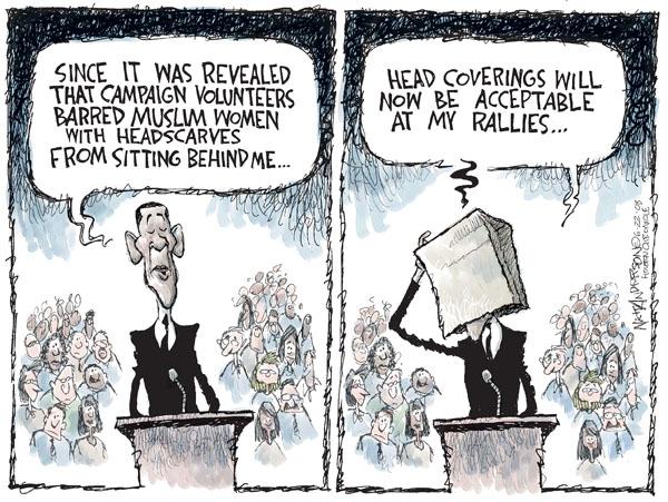 Cartoonist Nick Anderson  Nick Anderson's Editorial Cartoons 2008-06-22 ban