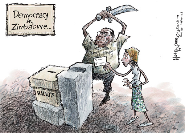 Nick Anderson  Nick Anderson's Editorial Cartoons 2008-06-25 voting rights