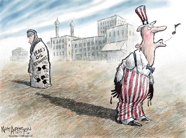 Cartoonist Nick Anderson  Nick Anderson's Editorial Cartoons 2008-07-02 Uncle Sam