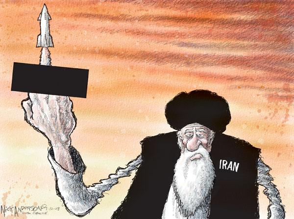 Cartoonist Nick Anderson  Nick Anderson's Editorial Cartoons 2008-07-10 missile