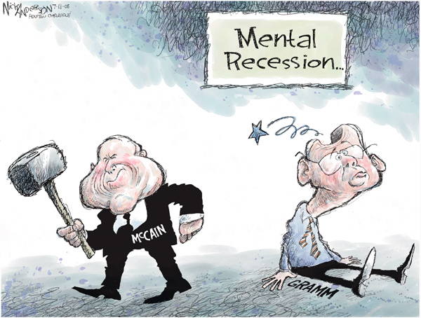 Nick Anderson  Nick Anderson's Editorial Cartoons 2008-07-11 whine