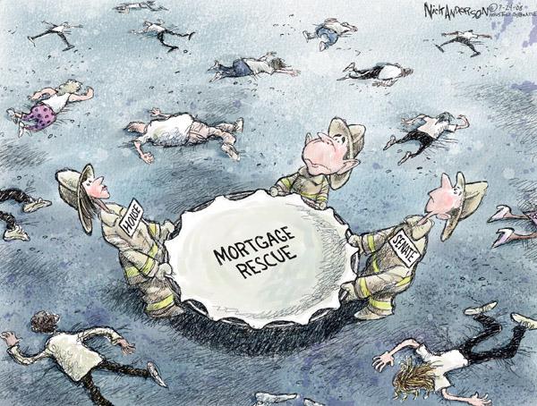 Cartoonist Nick Anderson  Nick Anderson's Editorial Cartoons 2008-07-24 George W. Bush congress