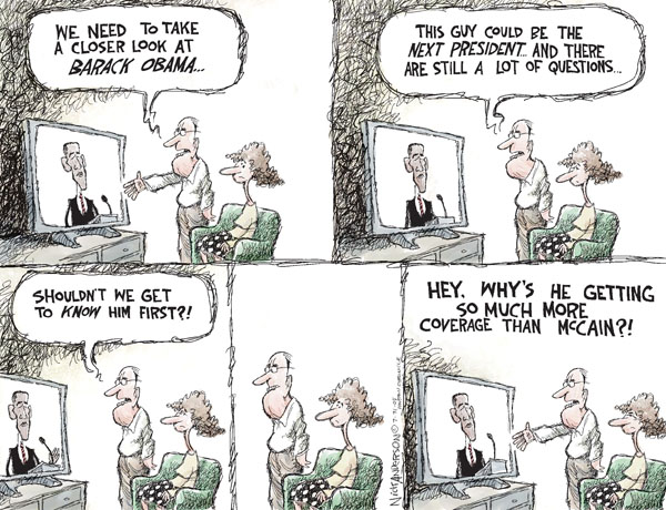 Cartoonist Nick Anderson  Nick Anderson's Editorial Cartoons 2008-07-31 presidential candidate