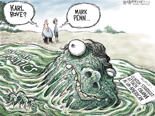 Cartoonist Nick Anderson  Nick Anderson's Editorial Cartoons 2008-08-14 presidential candidate
