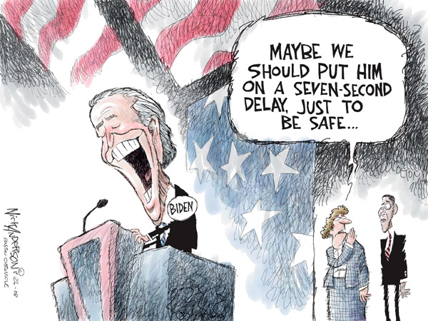 Cartoonist Nick Anderson  Nick Anderson's Editorial Cartoons 2008-08-26 presidential candidate