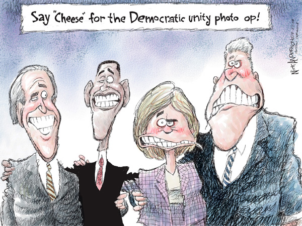 Cartoonist Nick Anderson  Nick Anderson's Editorial Cartoons 2008-08-27 presidential candidate