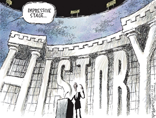 Cartoonist Nick Anderson  Nick Anderson's Editorial Cartoons 2008-08-29 presidential candidate