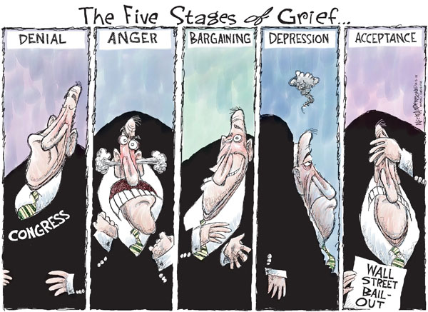 Nick Anderson  Nick Anderson's Editorial Cartoons 2008-10-05 stock market