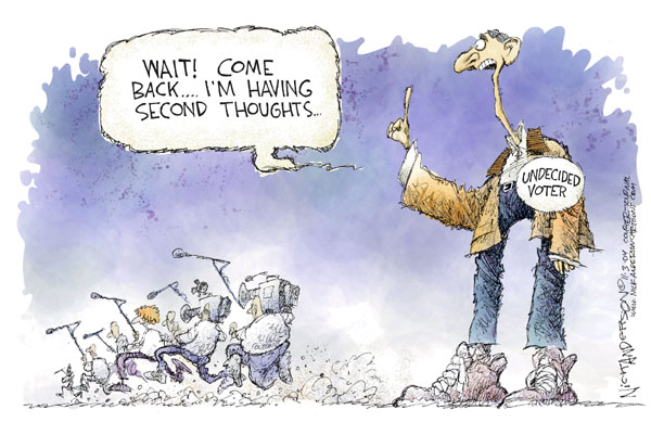 Nick Anderson  Nick Anderson's Editorial Cartoons 2004-11-03 analysis