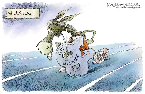 Cartoonist Nick Anderson  Nick Anderson's Editorial Cartoons 2004-11-04 2004 election