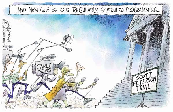 Cartoonist Nick Anderson  Nick Anderson's Editorial Cartoons 2004-11-07 2004 election