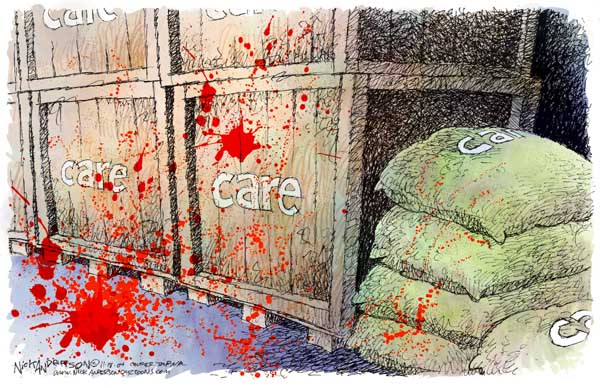 Cartoonist Nick Anderson  Nick Anderson's Editorial Cartoons 2004-11-18 relief