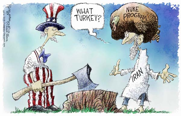 Cartoonist Nick Anderson  Nick Anderson's Editorial Cartoons 2004-11-24 nuclear