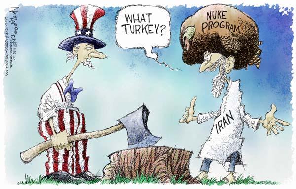 Cartoonist Nick Anderson  Nick Anderson's Editorial Cartoons 2004-11-24 weapon