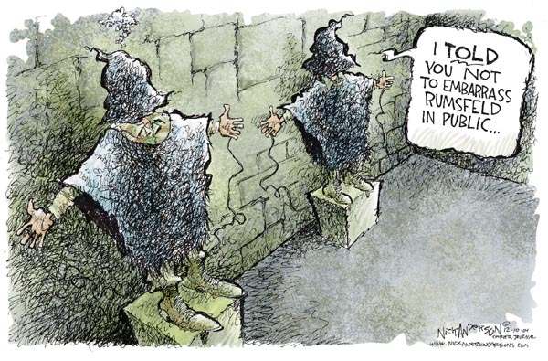 Nick Anderson  Nick Anderson's Editorial Cartoons 2004-12-10 military preparedness
