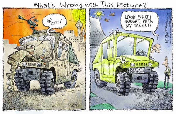Nick Anderson  Nick Anderson's Editorial Cartoons 2004-12-12 military preparedness