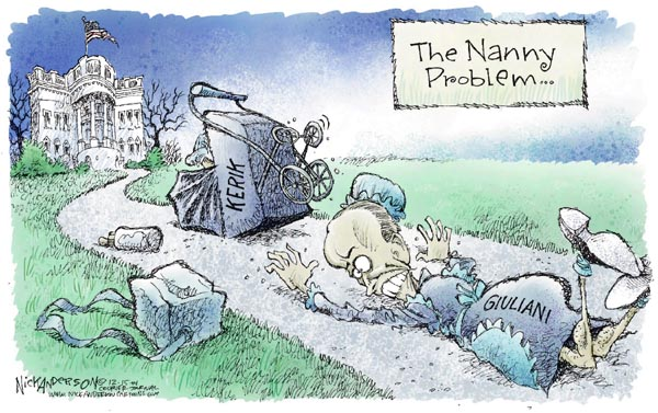 Nick Anderson  Nick Anderson's Editorial Cartoons 2004-12-15 Rudy Giuliani