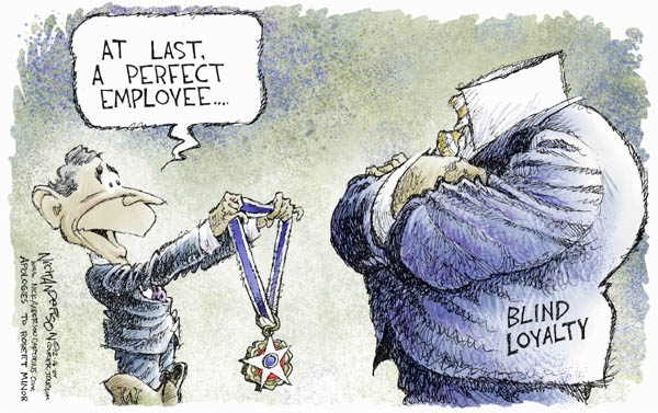 Cartoonist Nick Anderson  Nick Anderson's Editorial Cartoons 2004-12-16 commitment