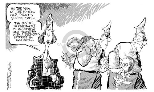 Nick Anderson  Nick Anderson's Editorial Cartoons 2002-01-10 aviation