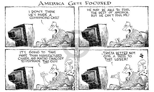 Cartoonist Nick Anderson  Nick Anderson's Editorial Cartoons 2003-01-31 invasion