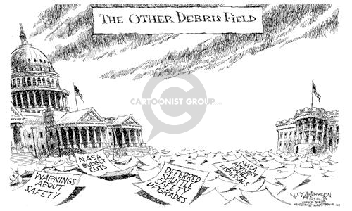 Cartoonist Nick Anderson  Nick Anderson's Editorial Cartoons 2003-02-03 review
