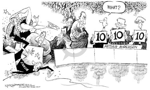 Nick Anderson  Nick Anderson's Editorial Cartoons 2002-02-07 corruption